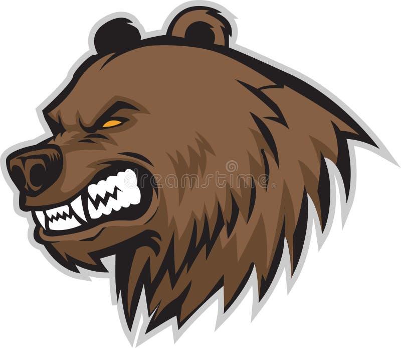 Niedźwiadkowy kierowniczy wektor ilustracja wektor