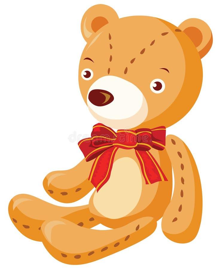 niedźwiadkowy miś pluszowy ilustracja wektor