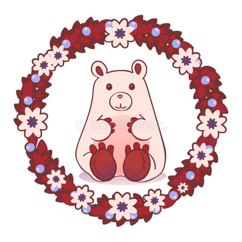 niedźwiadkowy miś pluszowy ilustracji