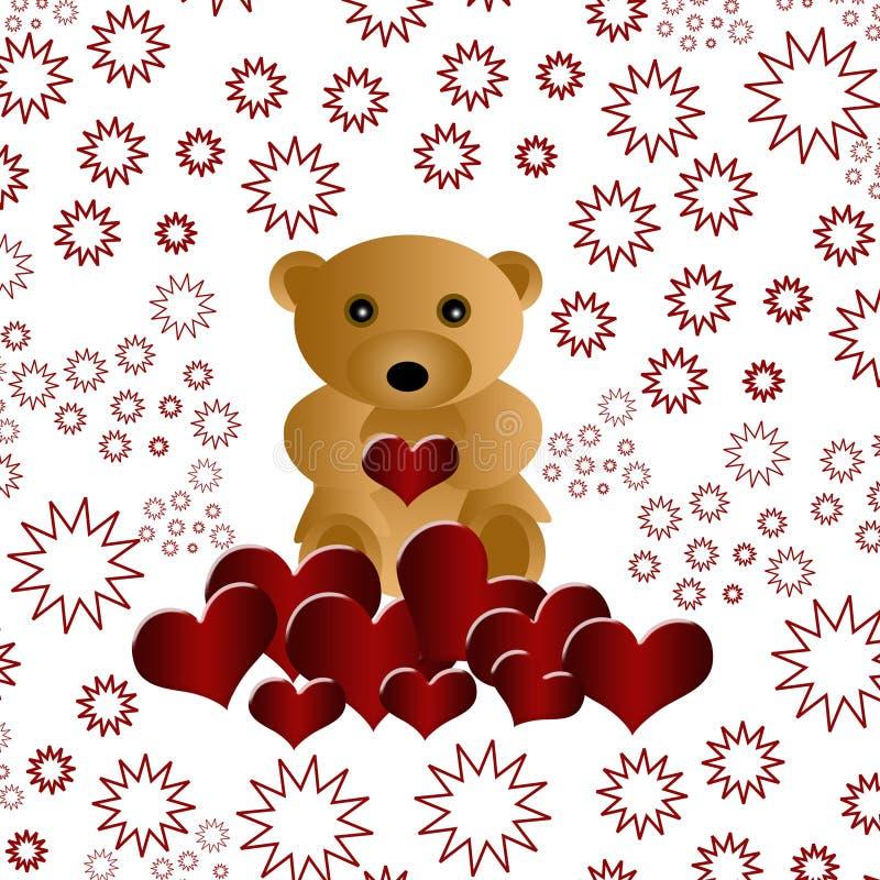 Download Niedźwiadkowy Piękny Kochający Miś Pluszowy Ilustracji - Ilustracja złożonej z uroczy, chłopiec: 13327559