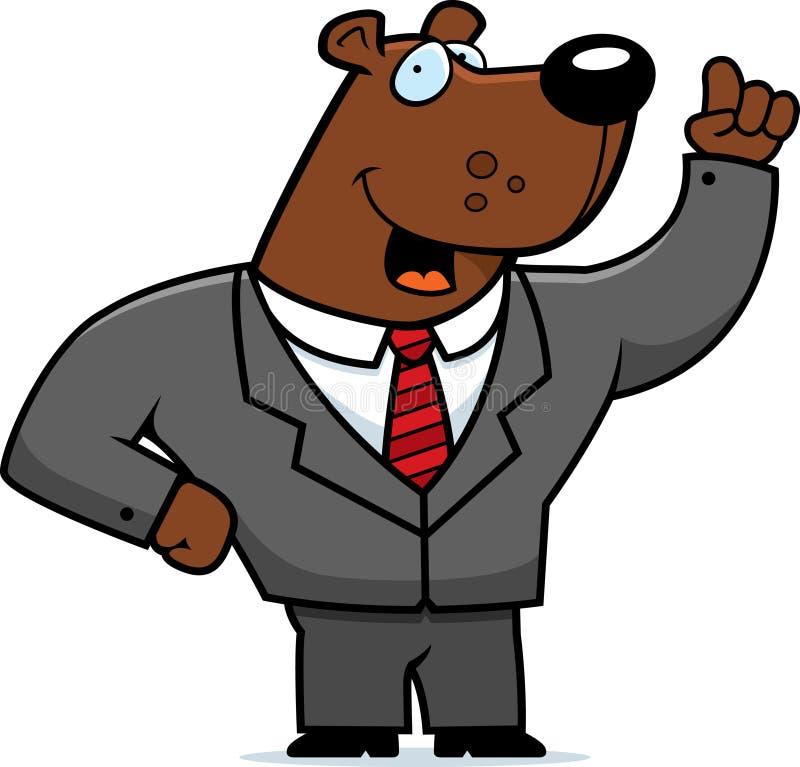 niedźwiadkowy rynek ilustracja wektor