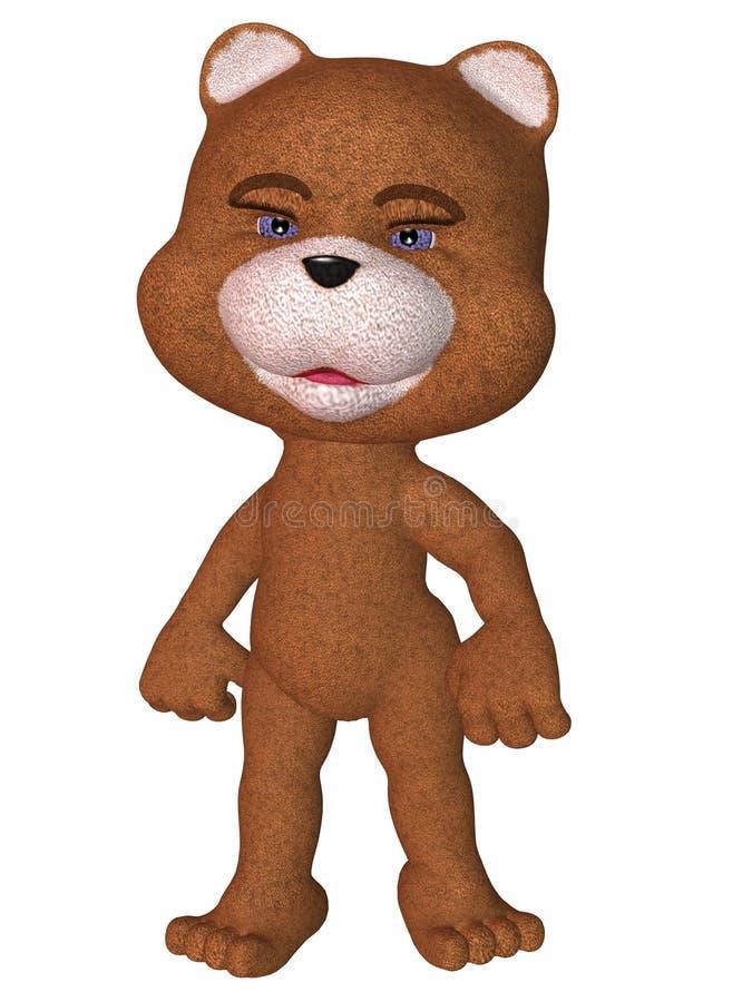niedźwiadkowy Toon ilustracji