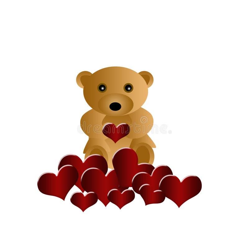 Download Niedźwiedź ilustracji. Ilustracja złożonej z arte, chwyt - 13326735
