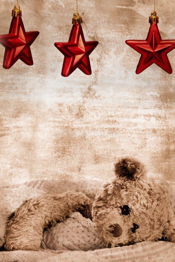 niedźwiedź grać główna rolę miś pluszowy zdjęcia stock