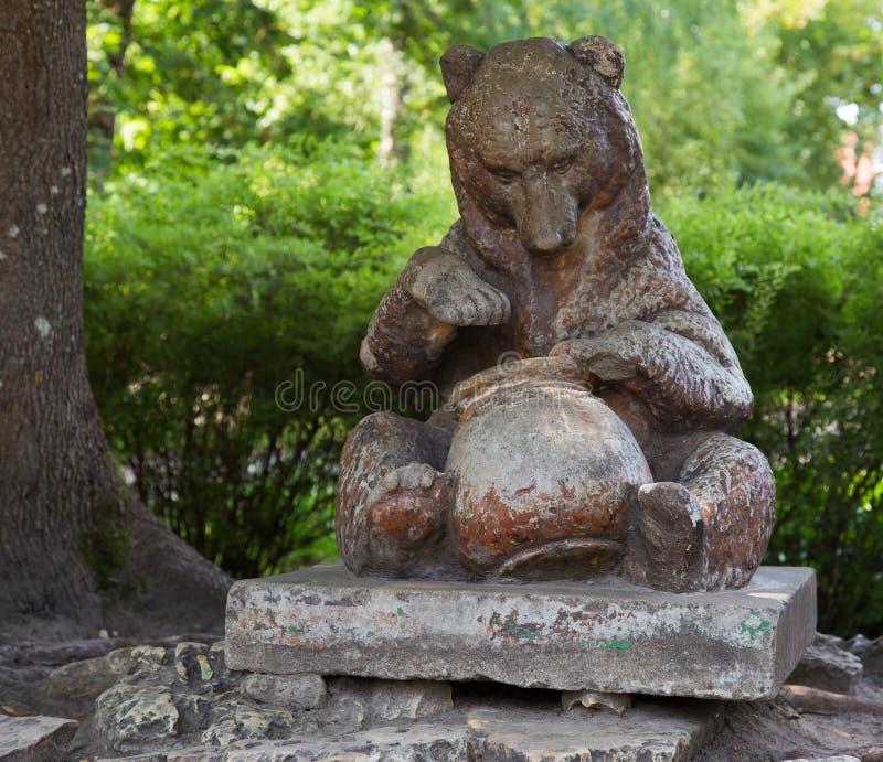 Niedźwiedź w potworze zdjęcie stock