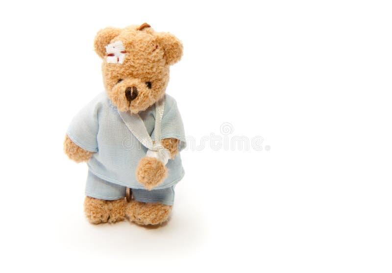niedźwiedzia biednie miś pluszowy obrazy stock