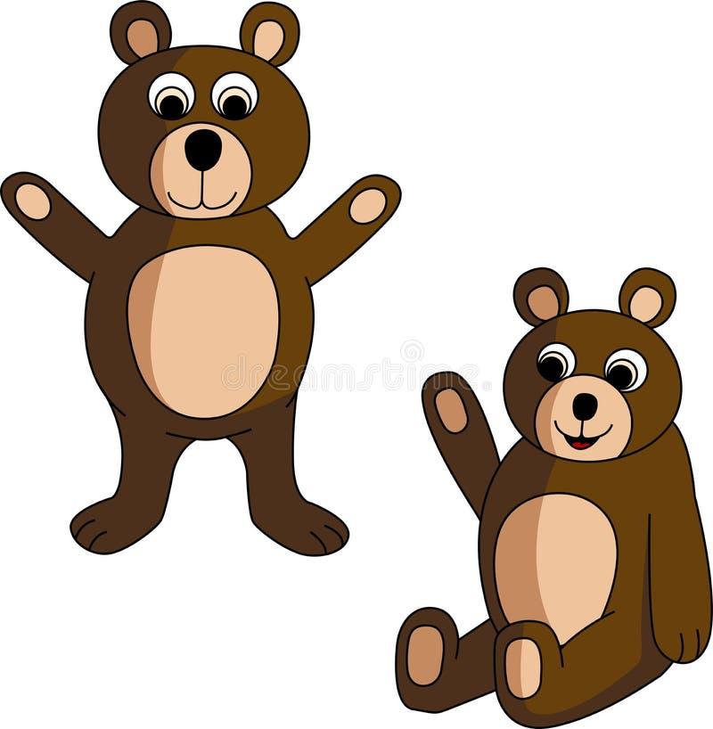 niedźwiedzie zdjęcia royalty free