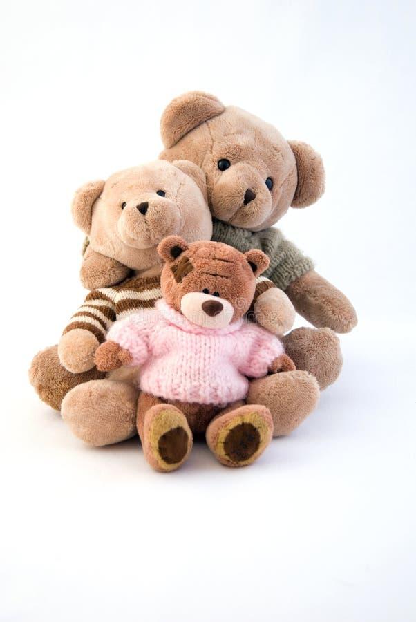 niedźwiedzie target1764_1_ zabawkę zdjęcia royalty free