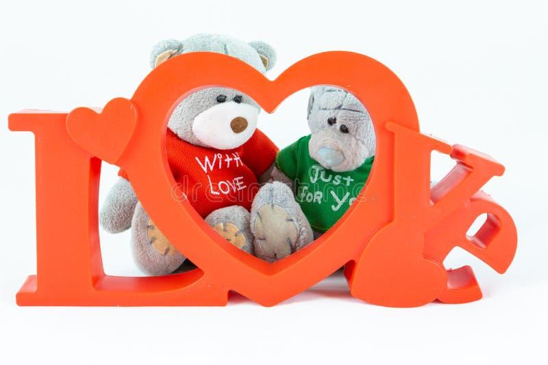 Niedźwiedzie z miłością obraz stock