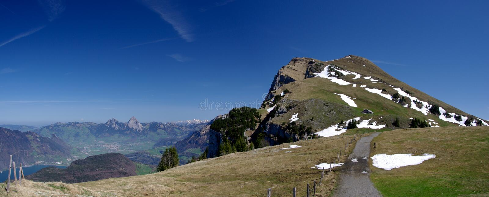 Niederbauern Mountain Royalty Free Stock Photography