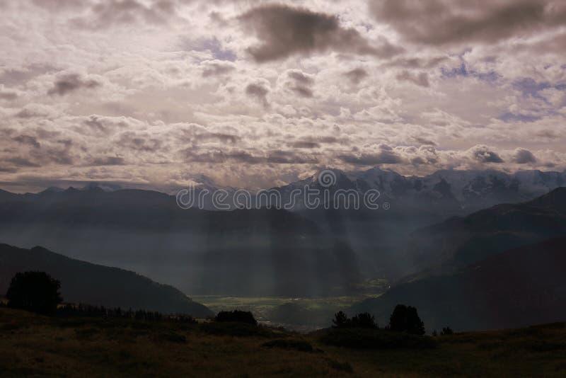 Niederhorn fotografia stock libera da diritti