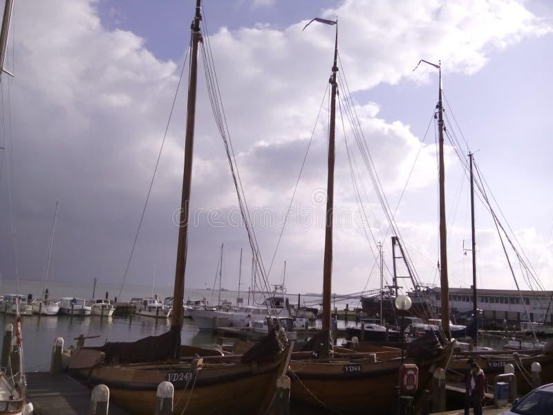 Niederländische Boote lizenzfreies stockbild