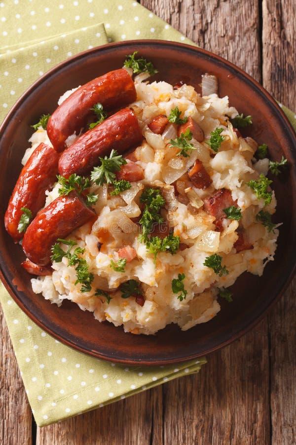 Toll Download Niederländische Küche: Stamppot Von Kartoffeln, Sauerkraut Und  Karotte Clo Stockfoto   Bild: