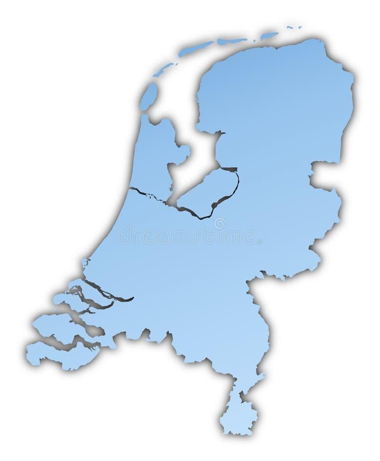 Niederländische Karte vektor abbildung