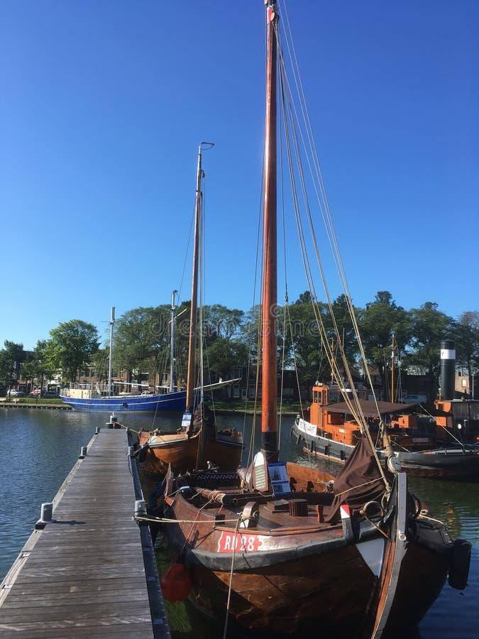 Niederländische segelnde Geschichte lizenzfreie stockfotografie