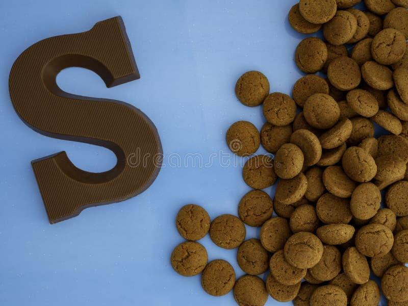 Niederländisches Fest mit dem Namen Sinterklaas-Bild mit Schörnchen stockfoto