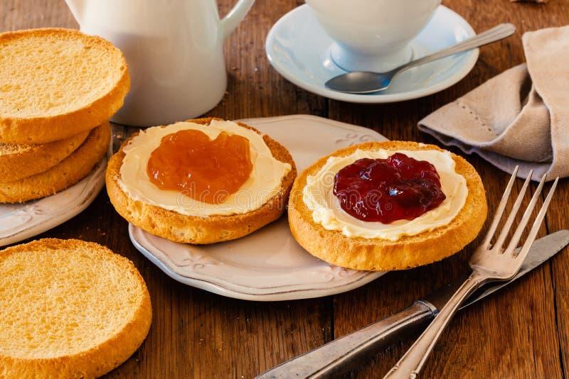 Niederländisches Frühstück stockfotos