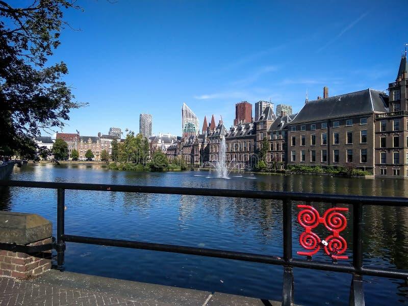 Niederländisches Parlament Binnenhof, Den Haag Den Haag, die Niederlande lizenzfreie stockbilder