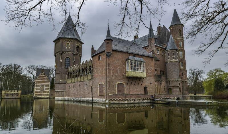 Niederländisches Schloss heeswijk stockfotografie