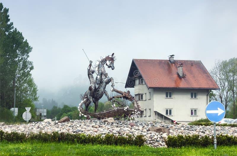 Niederndorf, TIROL AUSTRIA, MAJ, - 22,2014 obrazy royalty free