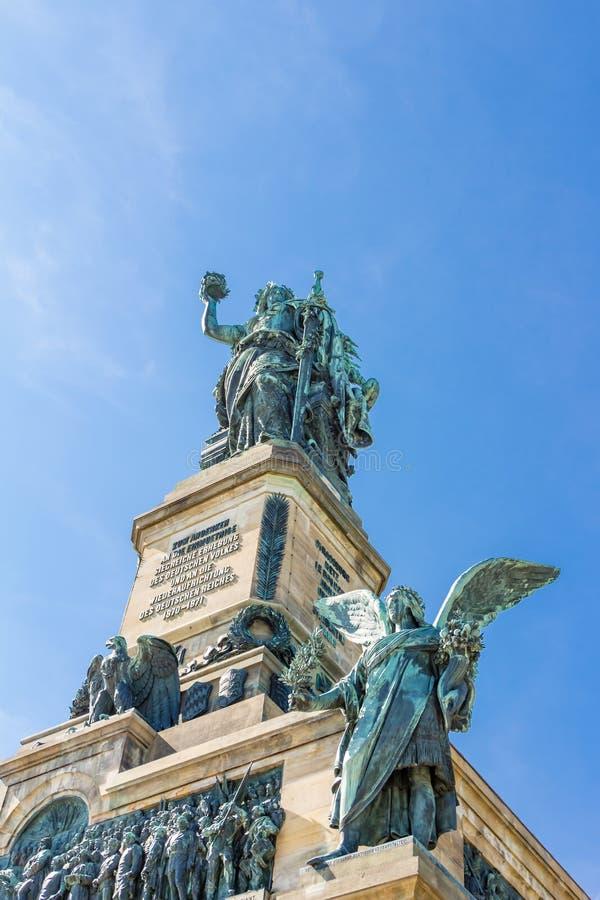 Niederwald zabytek w Hesse zdjęcie royalty free