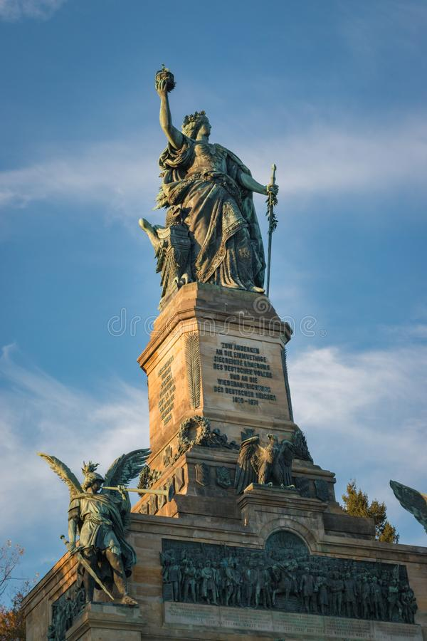 Niederwalddenkmal zdjęcie stock