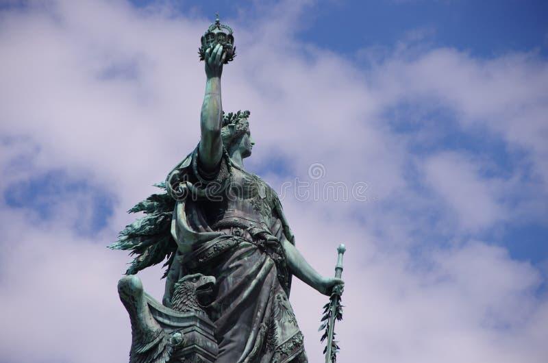 Niederwalddenkmal fotografia stock