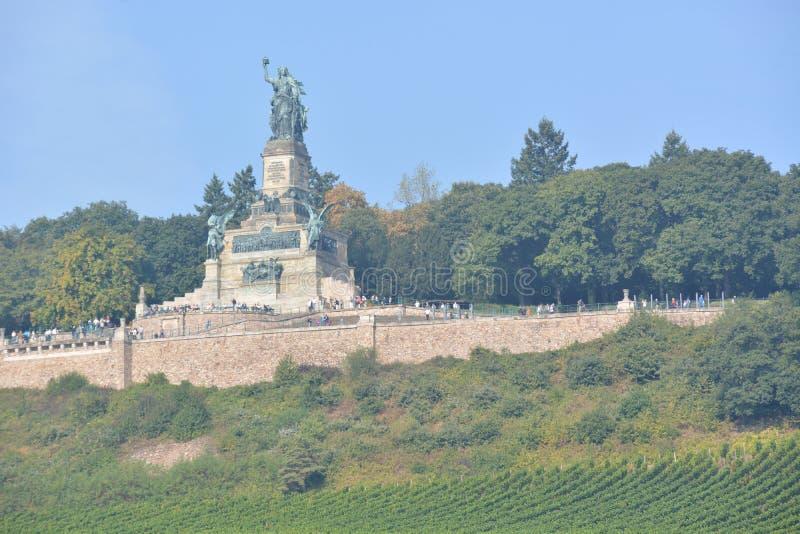 Niederwalddenkmal w Niemcy zdjęcie royalty free