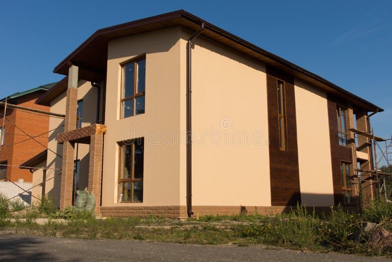 Niedokończona Architektoniczna budynek budowa obraz stock