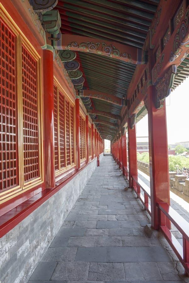 Niedozwolony miasto korytarz obraz stock