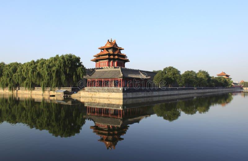 Niedozwolony miasto w Pekin obrazy royalty free