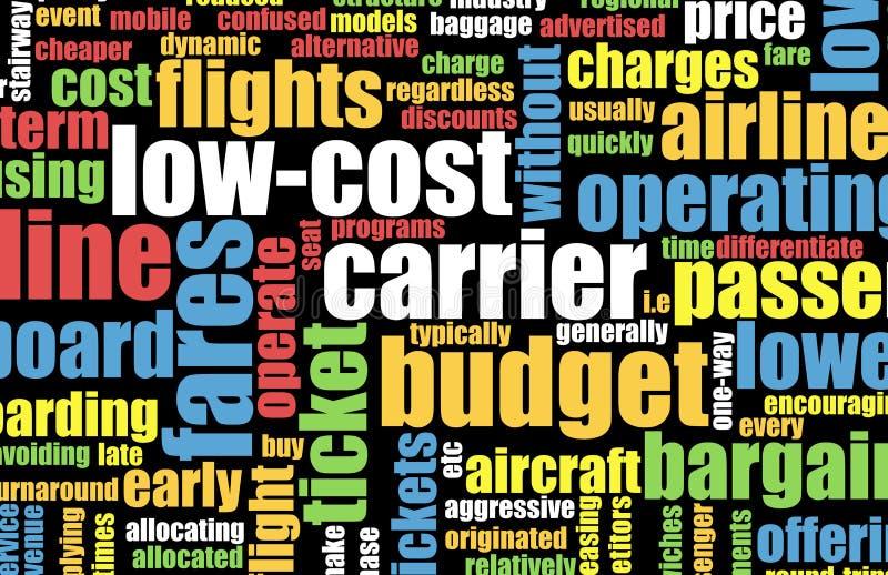 Niedrige Kosten-Träger lizenzfreie abbildung