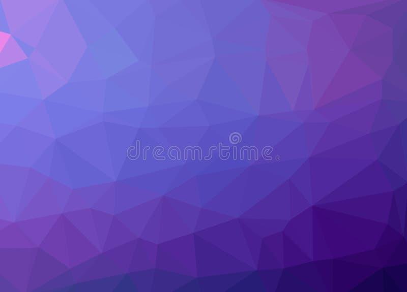 Niedrige Polyeffektillustration des abstrakten Vektorhintergrundes vektor abbildung