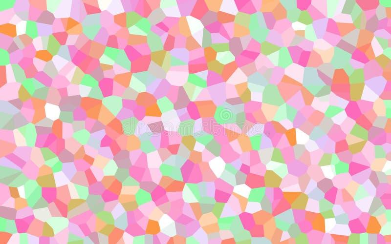 Niedriger abstrakter Pastellpolyhintergrund lizenzfreie stockfotos