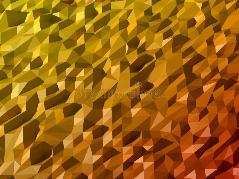 Niedriger abstrakter Polyhintergrund lizenzfreie stockbilder