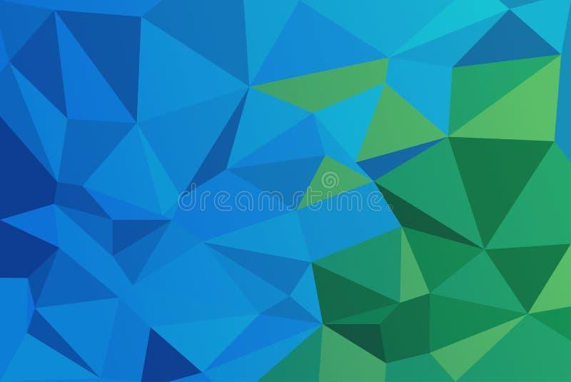 Niedriger Polyartillustrations-Grafikhintergrund vektor abbildung