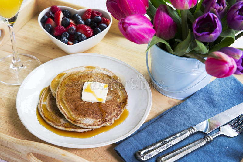 Niedziela śniadanio-lunch obraz stock
