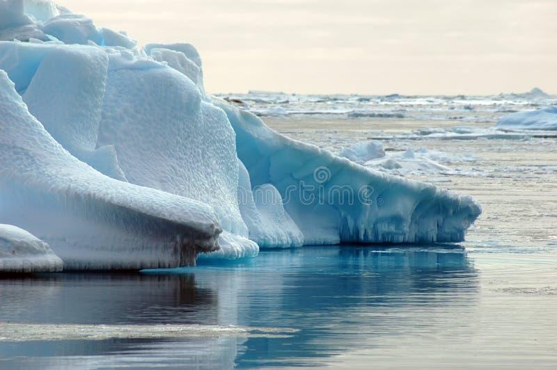 niekończące się lodu fotografia stock