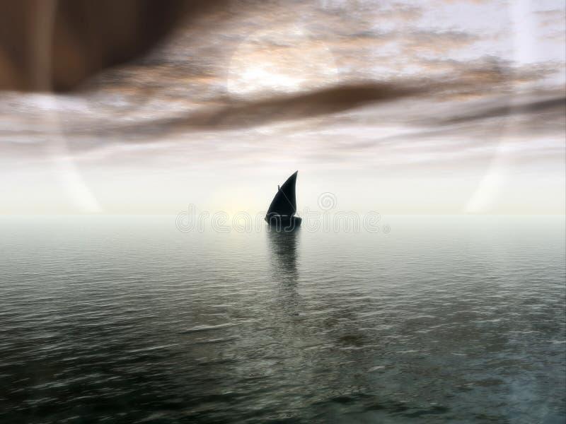 Download Niekończące się podróży ilustracji. Ilustracja złożonej z ocean - 29582