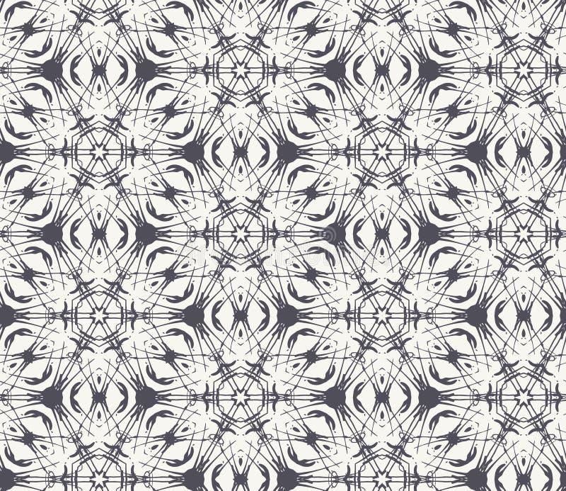 Niekończący się siatki tekstura ilustracji