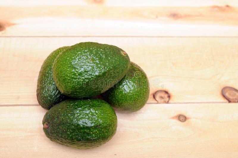 Niektóre avocados zdjęcie stock
