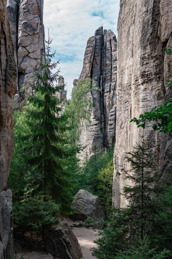 Niektóre piękno republika czech zdjęcie royalty free