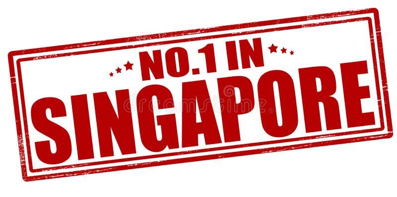 Niemand in Singapore vector illustratie