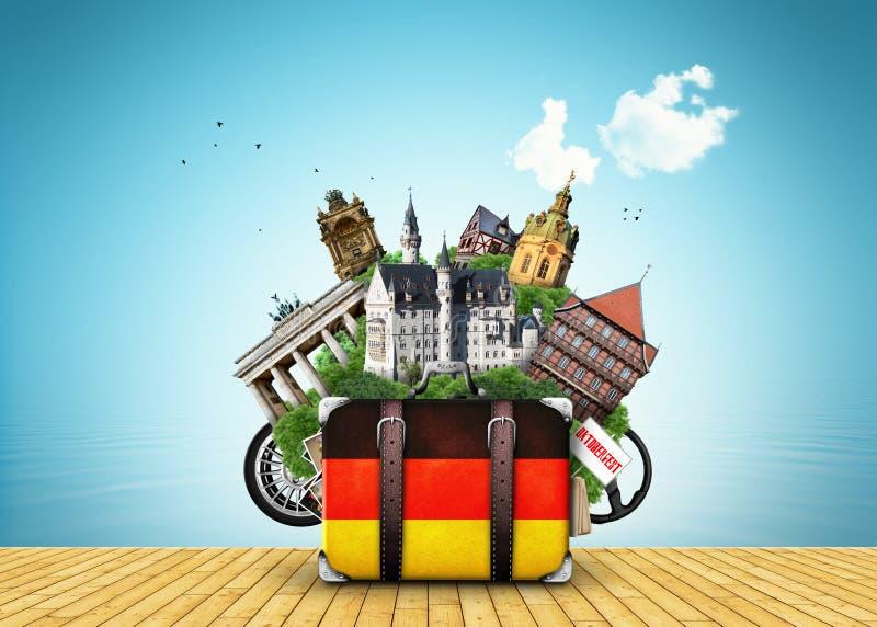 Niemcy royalty ilustracja