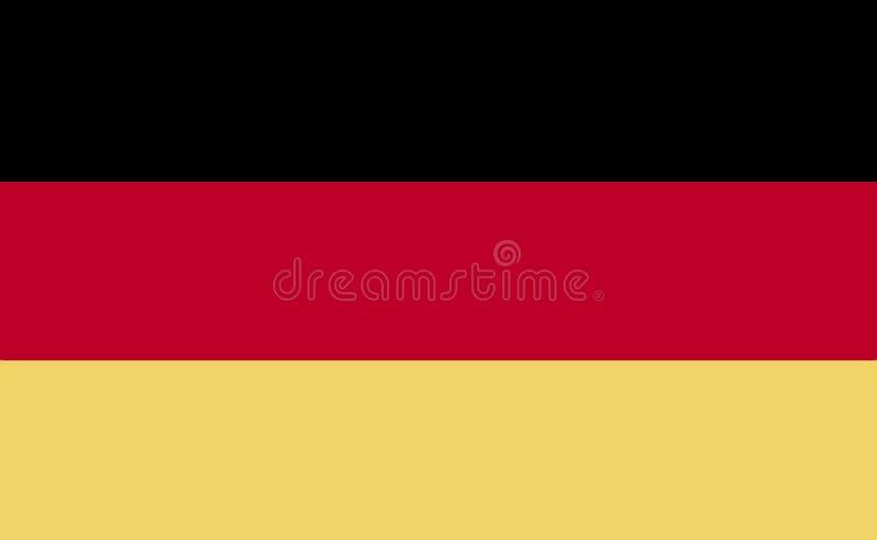 niemcy bandery zdjęcia stock