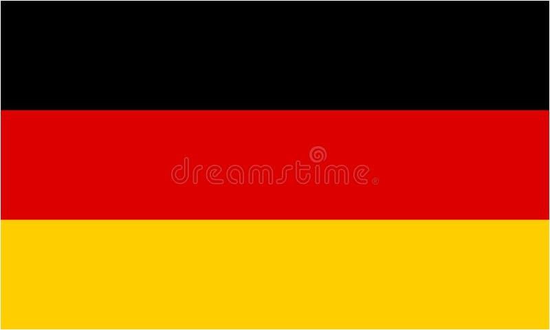 niemcy bandery royalty ilustracja
