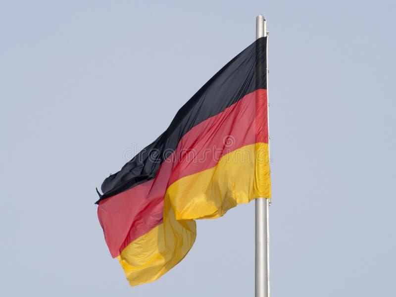 niemcy bandery obraz stock