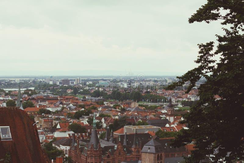 Niemcy linia horyzontu zdjęcia stock