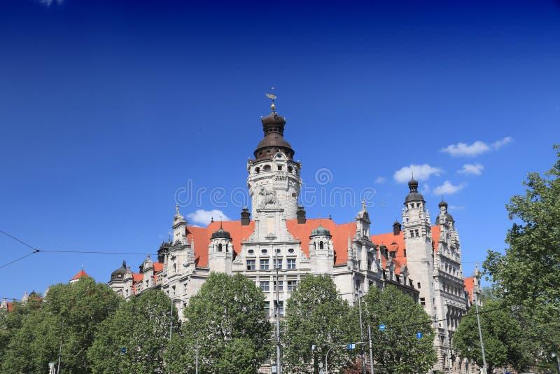 Niemcy punkt zwrotny - Leipzig zdjęcia royalty free