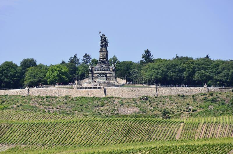 Niemcy, Rhine dolina zdjęcie royalty free